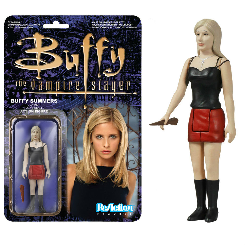 From the Archive # 6 Buffy Summers ReAction