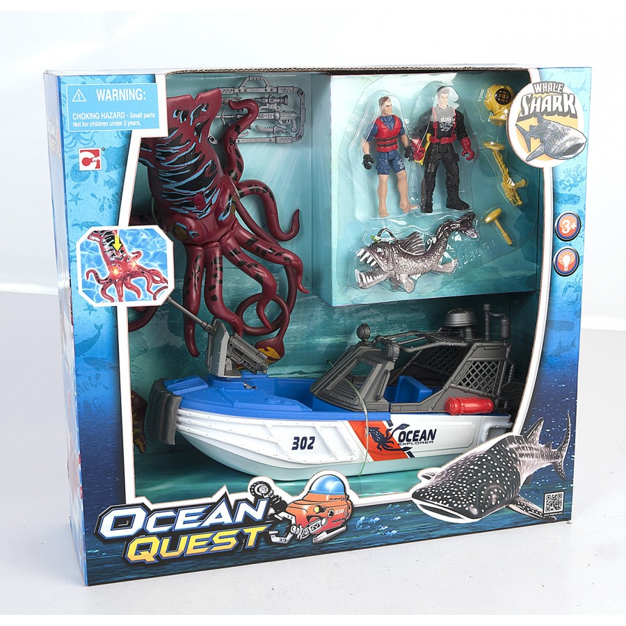 Chap Mei Ocean Quest action figure checklist
