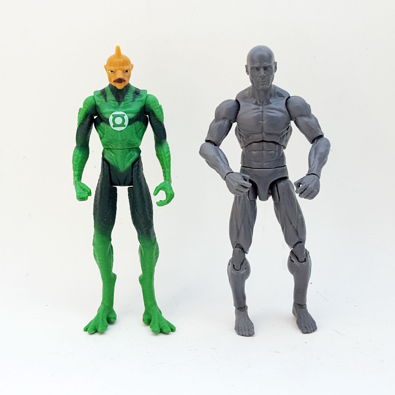 1:18 DC Comics Green Lantern Action Figure Checklist