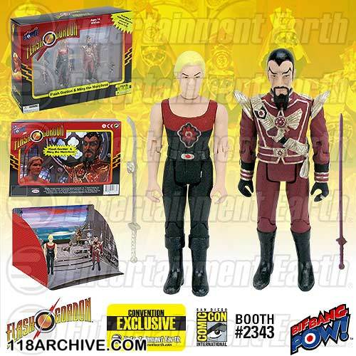 1:18 Action Figure Archive : Flash Gordon checklist