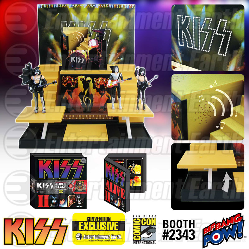 1:18 Action Figure Archive : KISS checklist