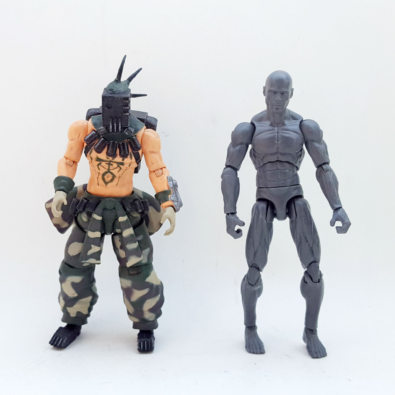 1:18 Lost Planet Action Figure Checklist