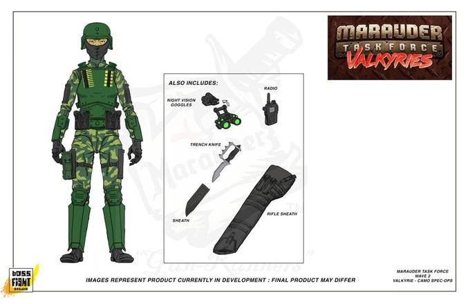 1:18 Scale Marauder Task Force checklist