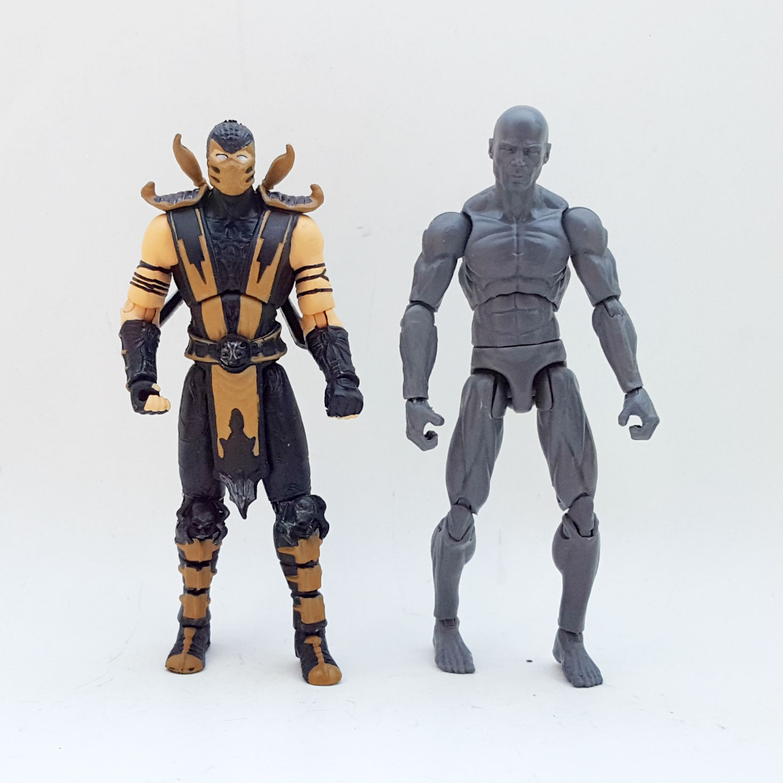 1:18 Mortal Kombat Action Figure Checklist