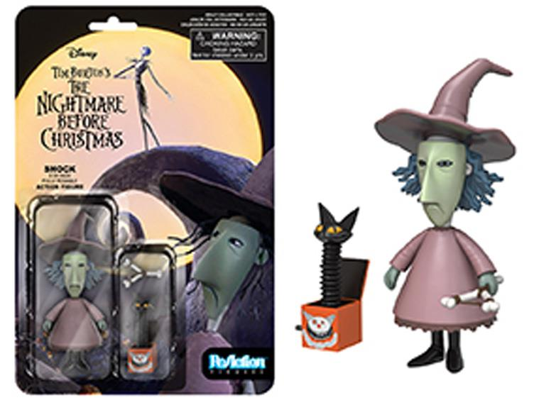 ReAction Series 2 Nightmare Before Christmas Checklist