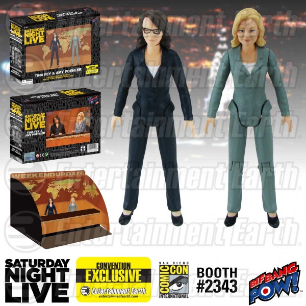 1:18 Archive Saturday Night Live by Bif Bang Pow action figure checklist