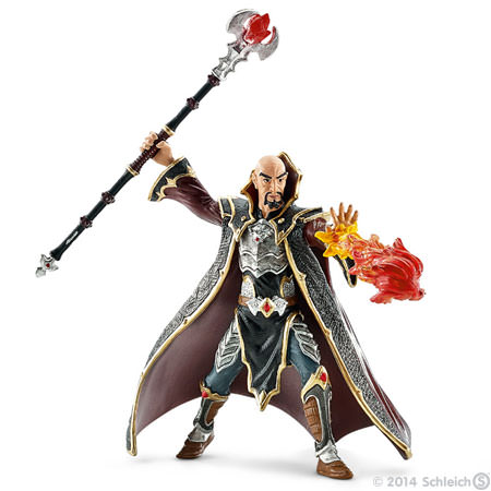1:18 Archive Schleich World of Knights Dragon Knight Magician Wizard