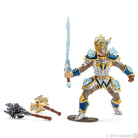 1:18 Archive Schleich World of Knights Griffin Knight Hero
