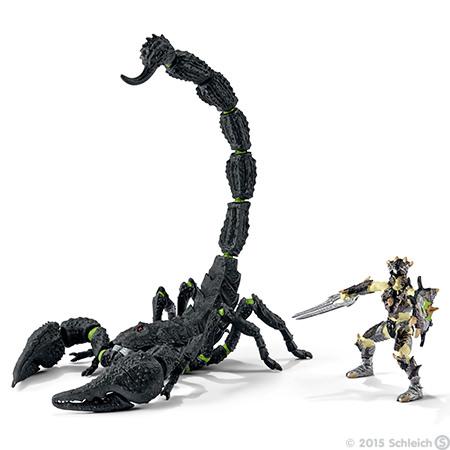 1:18 Archive Schleich World of Knights Scorpion Rider