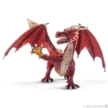 1:18 Archive Schleich World of Knights Dragon Warrior