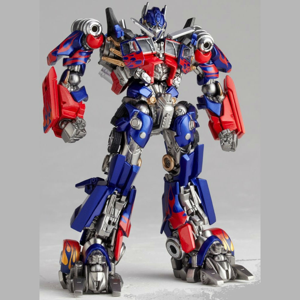 1:18 Action figure archive Revoltech Transformers checklist