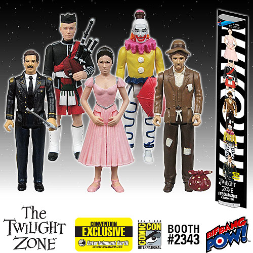 1:18 Action figure archive Twilight Zone checklist