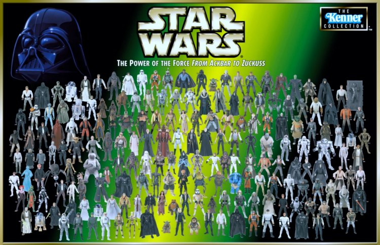 1:18 Archive Star Wars Action figure checklist