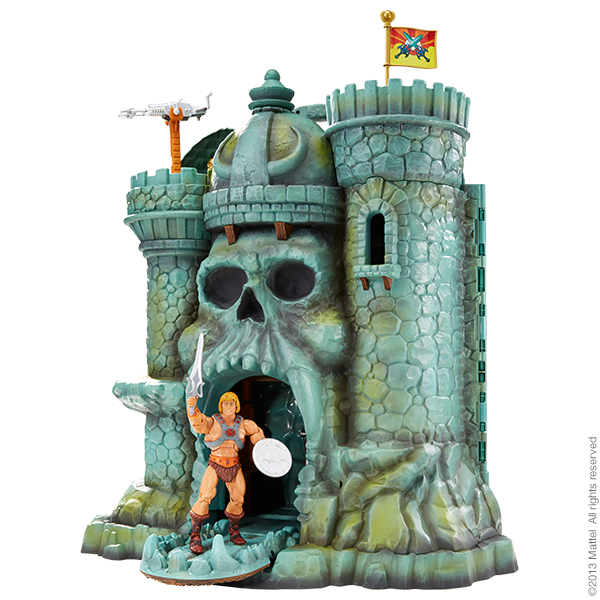 By the podcast of grayskull